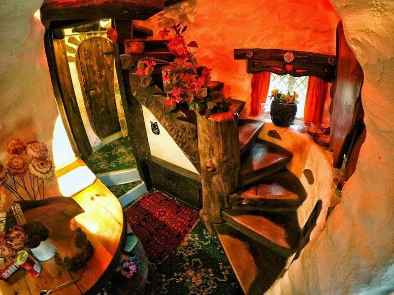 Hobbit House - Stairs