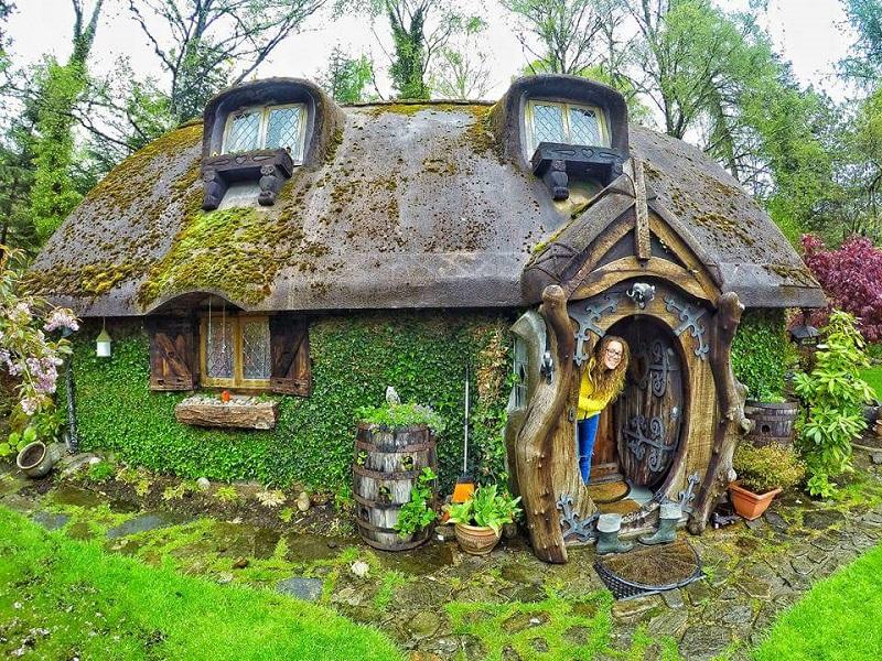 Real-Life Hobbit House Built in Scotland | Designs & Ideas on Dornob