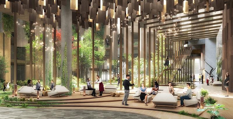 Eco-Luxury Hotel - Ground Floor