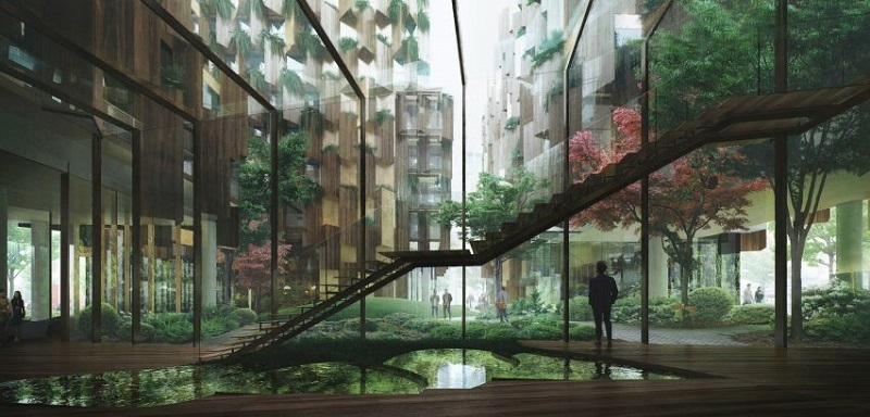 Eco-Luxury Hotel - Kengo Kuma