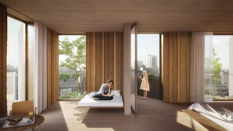 Eco-Luxury Hotel - Interior