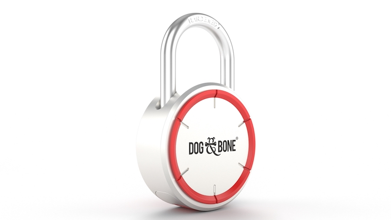 Dog and Bone LockSmart Padlock