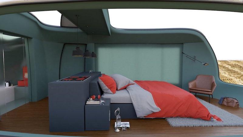 MINI-Inspired Camping Pod - Anomaly + Bitlens Studios