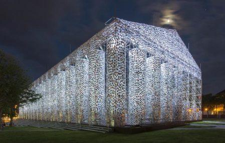 Parthenon of Books - Night