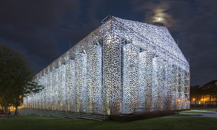 Parthenon of Books - Night