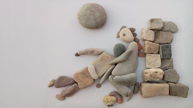 Syrian Pebble People - Nazir Ali Badr