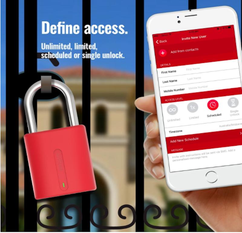 Dog and Bone LockSmart Padlock - Mobile App