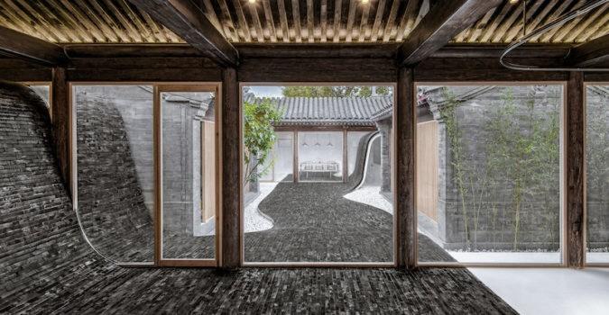 Twisting Courtyard - Arch Studio