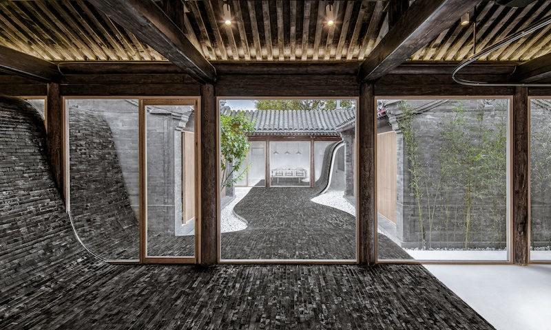 Twisting Courtyard - Arch Studio