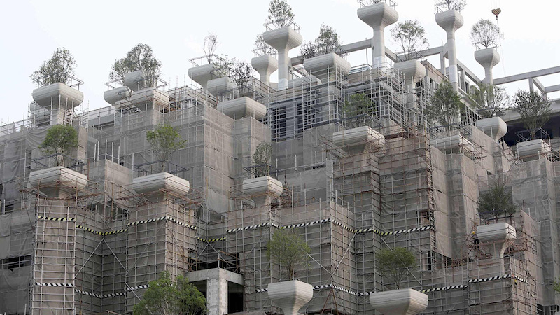 1000 Trees - Heatherwick Studio
