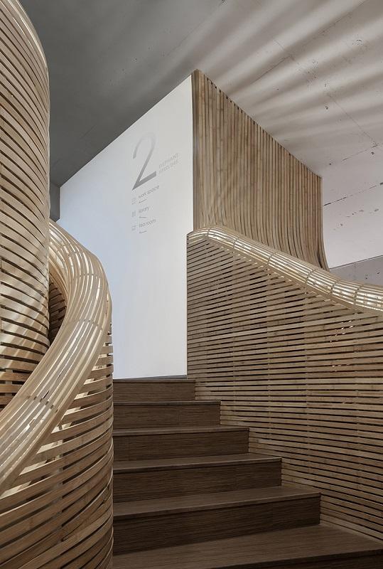 Bamboo Staircase - Cun Design