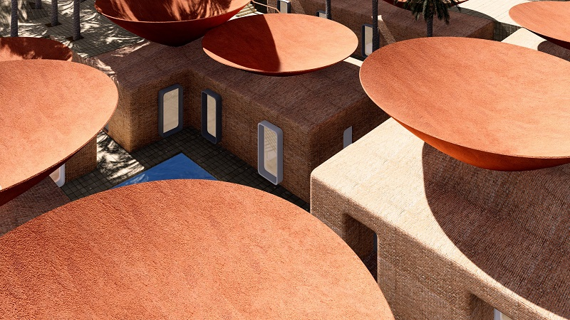 Concave Roof System - BMDesign