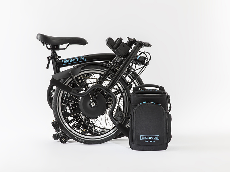 Brompton Electric - Folded Up