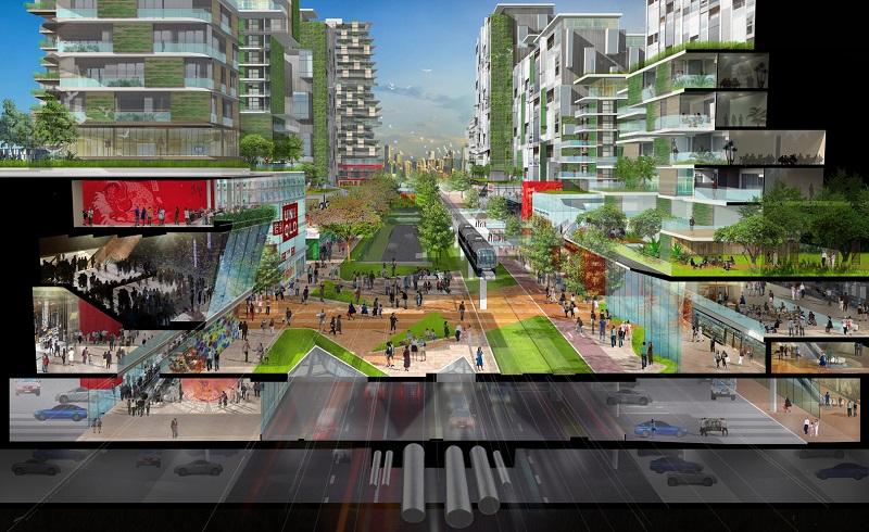 Forest City - Sasaki Associates