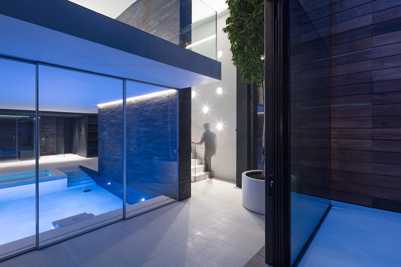basement pool glass. Exellent Basement Victorian Remix London Home Extended With A Glass Box And Basement Pool To Basement Pool Glass