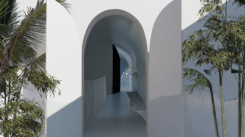 """""""House in Corfu"""" - Arches"""