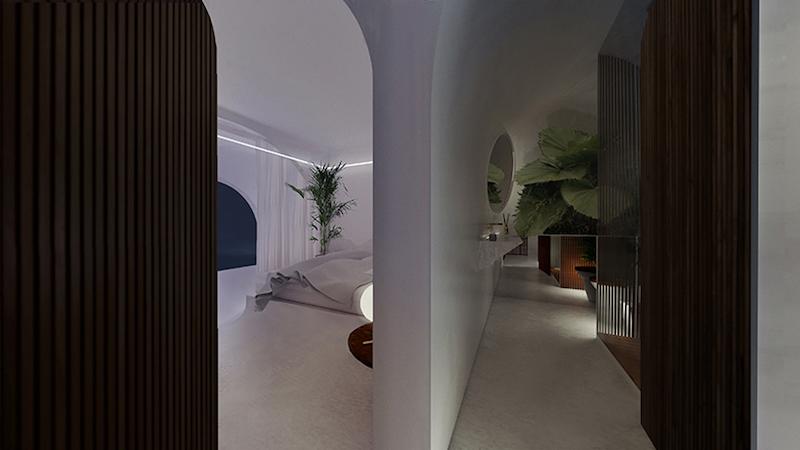"""House in Corfu"" - Interior"