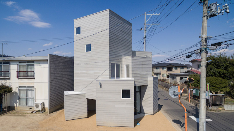 Smart Interlock House In Japan