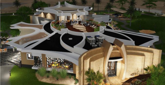 Serene Desert Villa Spa Retreat - SpaceLineDesign