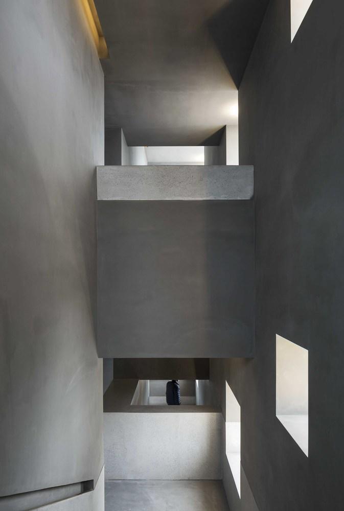 Suzhou Chapel - Staircase