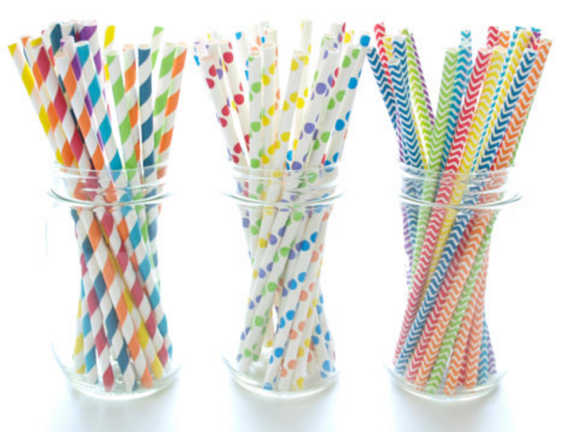 Paper Straws - Food with Fashion