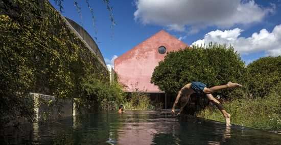 Red House - Reflecting Pool