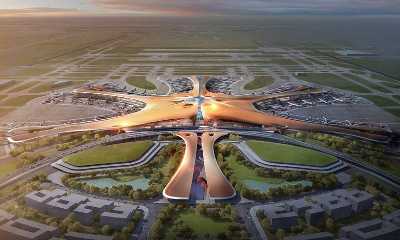 Zaha Hadid Terminal - Rendering