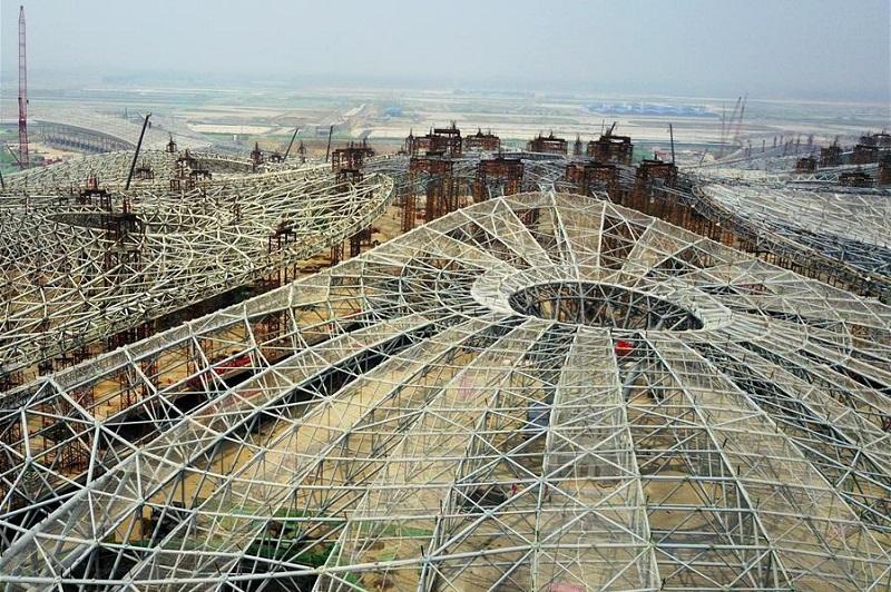 Zaha Hadid Terminal - Construction