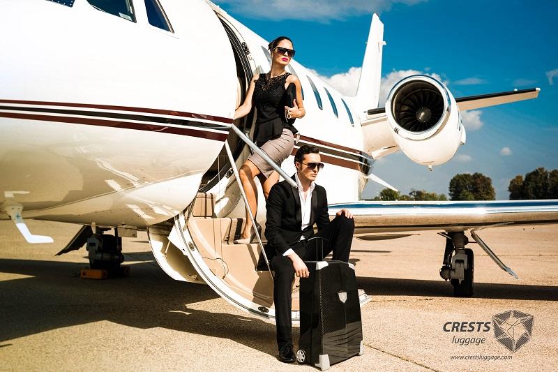 CRESTS Carbon Fiber Suitcase