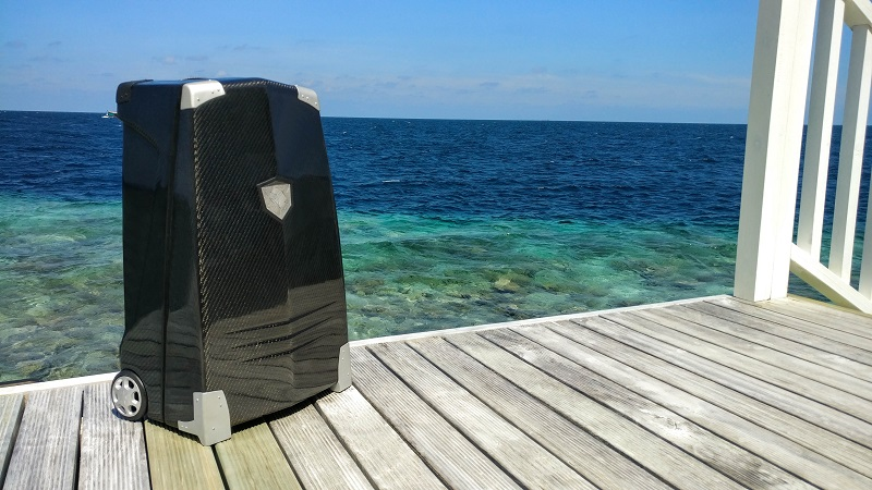 CRESTS Carbon Fiber Suitcase