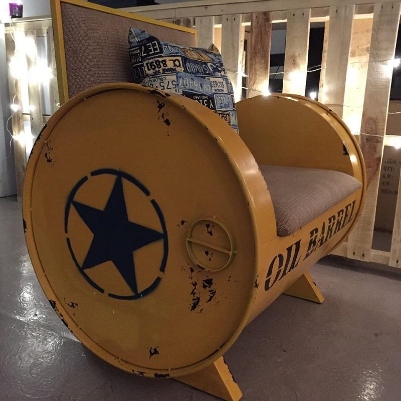 Oil Barrel Chair - Osaka25