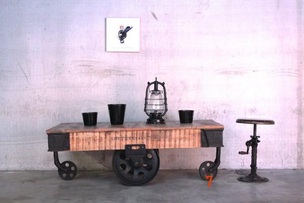 Trolley Wagon Table - Barak 7