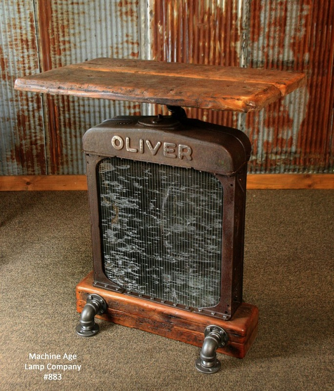 Tractor Radiator Table - Machine Age Lamps