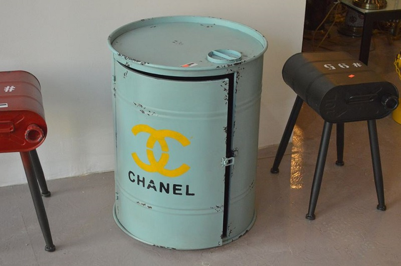 Oil Barrel Side Table - Osaka25