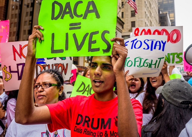 DACA Revocation Protest