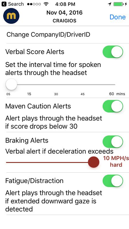Maven Co-Pilot - App