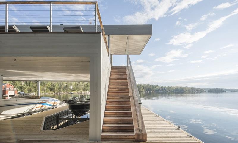Manitoba Boathouse - Cibinel Architecture