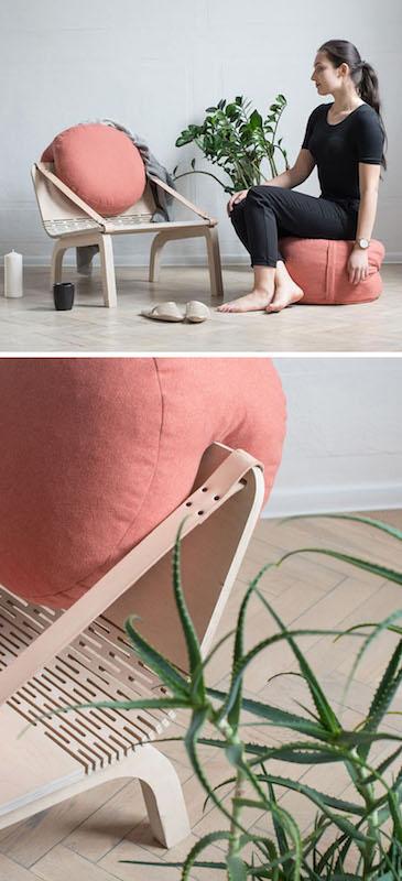 Dango Armchair - Floor Seating