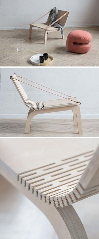 Dango Armchair - Cushionless