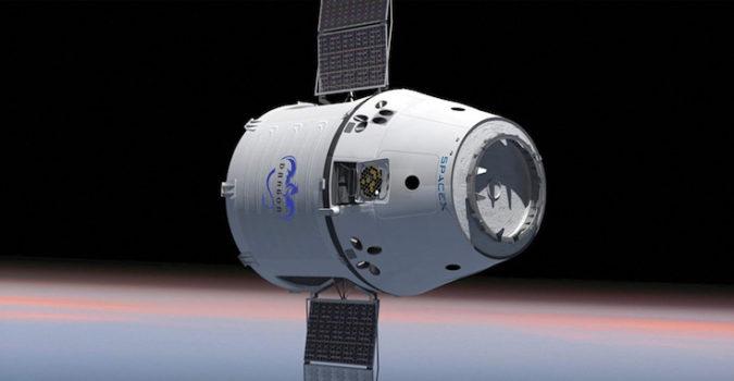 Dragon Capsule - SpaceX
