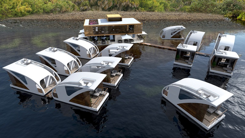 The Floating Hotel - Catamarans
