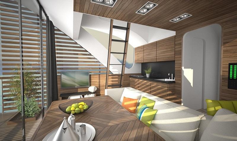 Catamaran - Interior