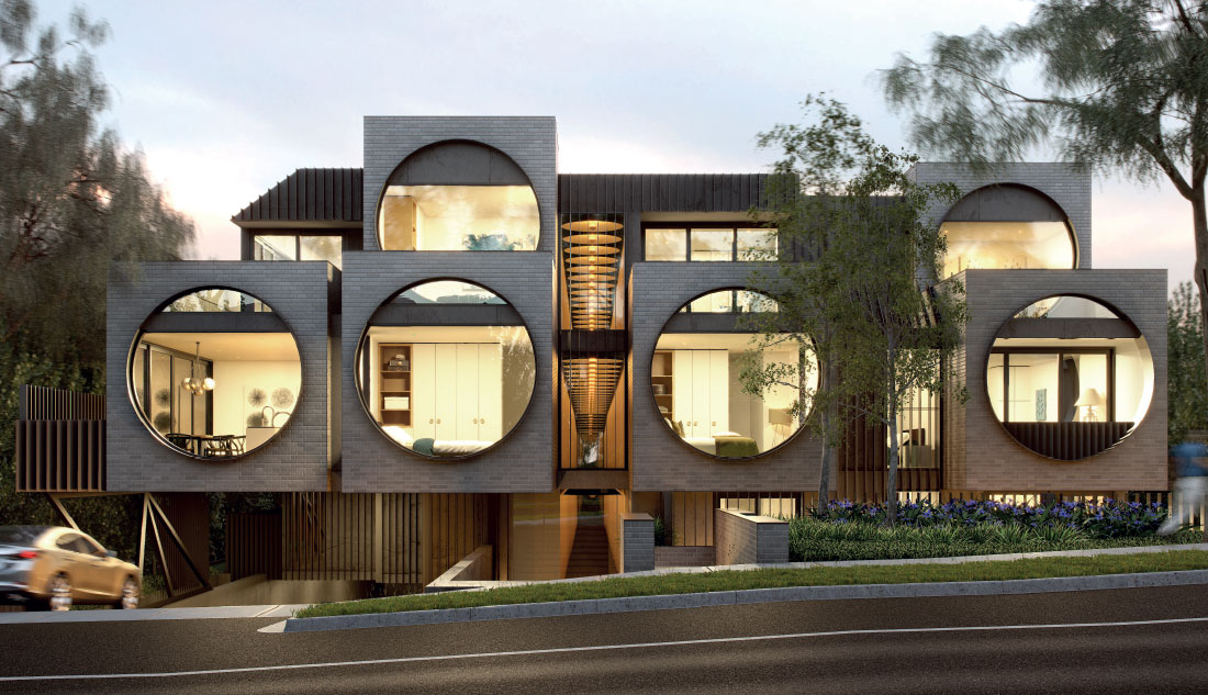 Cirqua Apartments - BKK Architects