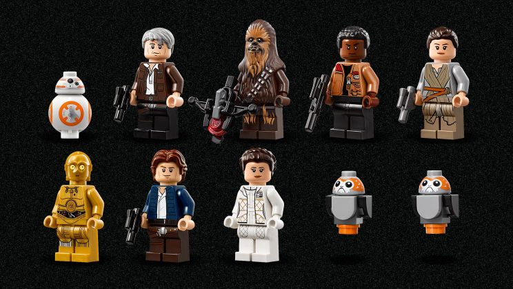 Ultimate Collector's Set Millennium Falcon - Characters