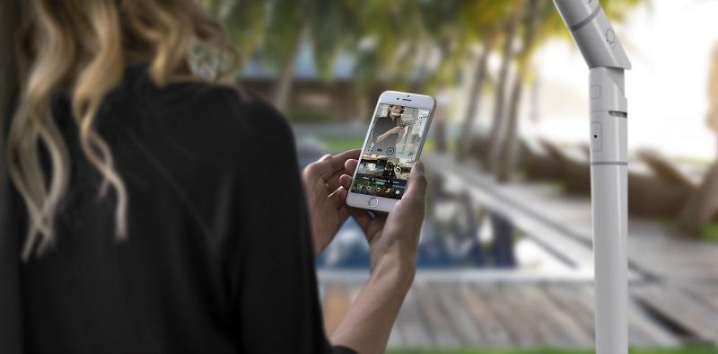 Sunflower Smart Umbrella - Mobile App