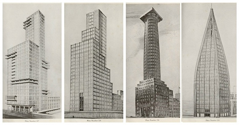 1922 Chicago Tribune Tower Competition - Entries