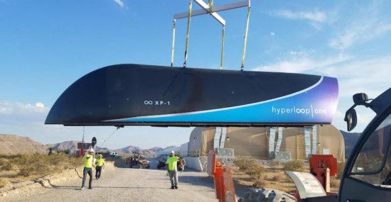 Hyperloop - XP-1 Pod