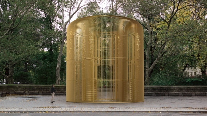 Gilded Cage - Ai Weiwei