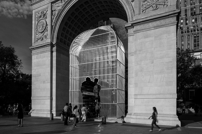 Washington Square Park Installation - Ai Weiwei