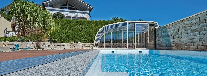 Endless Summer These Retractable Pool Covers Let You Swim